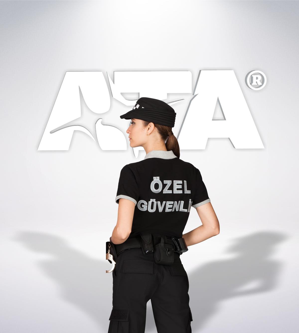 ATA 106 - ribstop kumaş pantolon - t-shirt - aksesuar - güvenlik elbiseleri | güvenlik üniformaları | güvenlik kıyafetleri