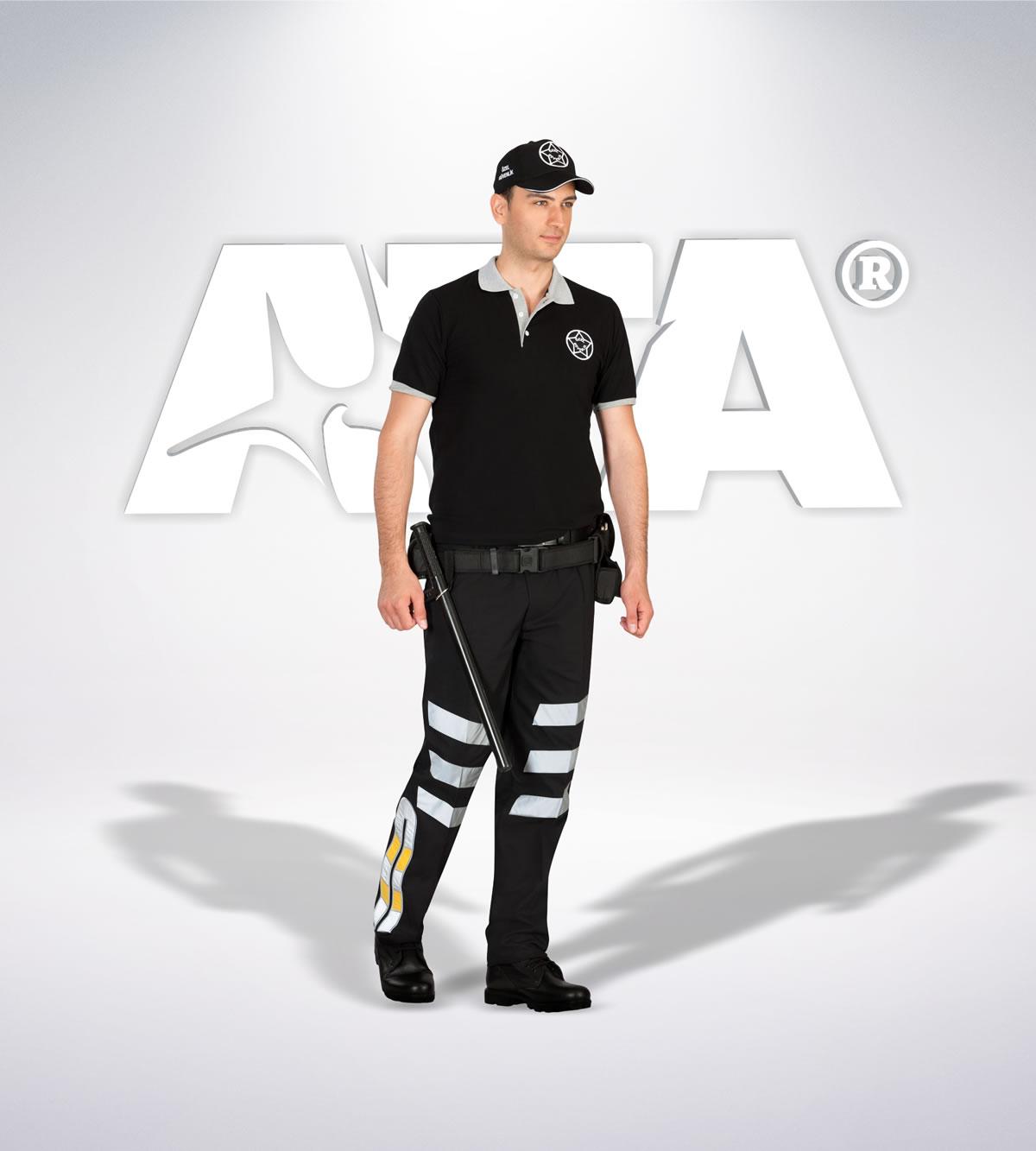 ATA 107 - ribstop kumaş pantolon - t-shirt - aksesuar - reflektör - güvenlik elbiseleri | güvenlik üniformaları | güvenlik kıyafetleri
