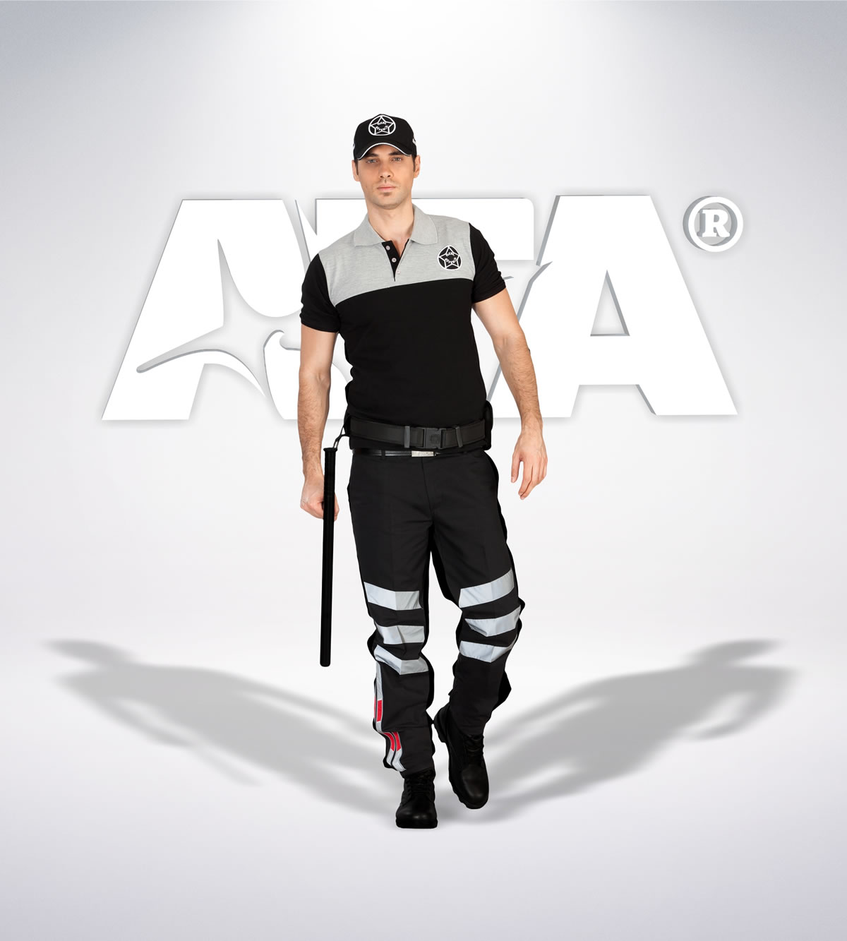 ATA 108 - ribstop kumaş pantolon - t-shirt - aksesuar - reflektör - güvenlik elbiseleri | güvenlik üniformaları | güvenlik kıyafetleri
