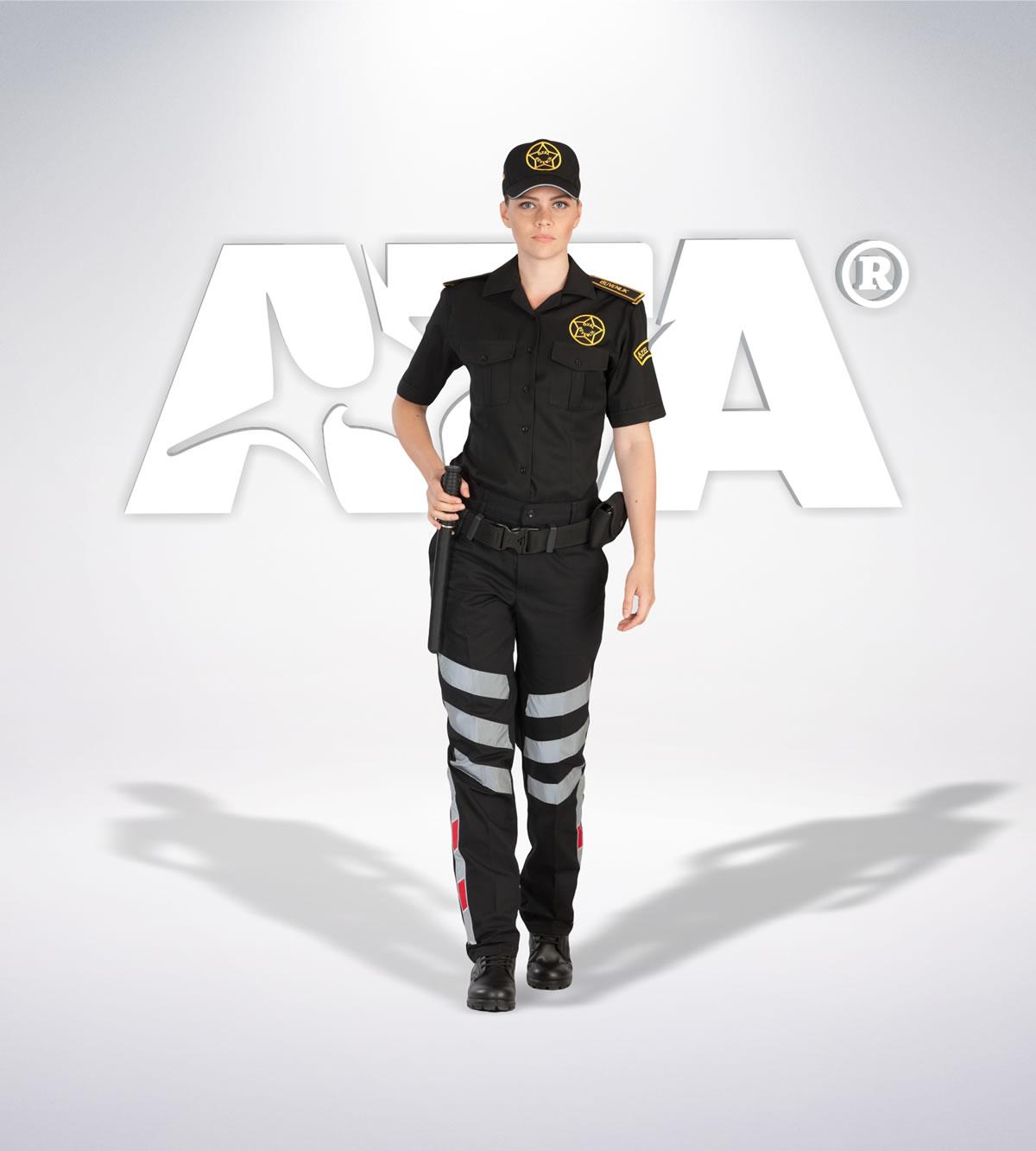 ATA 117 - Ribstop kumaş pantolon - ribstop gömlek - aksesuar - reflektör - güvenlik elbiseleri | güvenlik üniformaları | güvenlik kıyafetleri