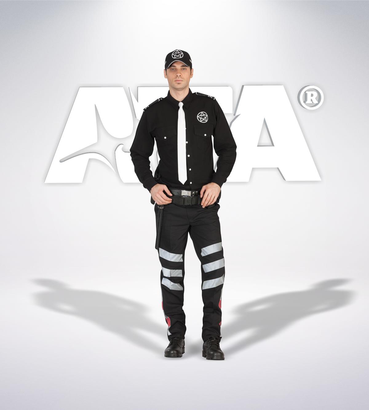 ATA 144 - Ribstop kumaş pantolon - ribstop gömlek - aksesuar -reflektör - güvenlik elbiseleri | güvenlik üniformaları | güvenlik kıyafetleri