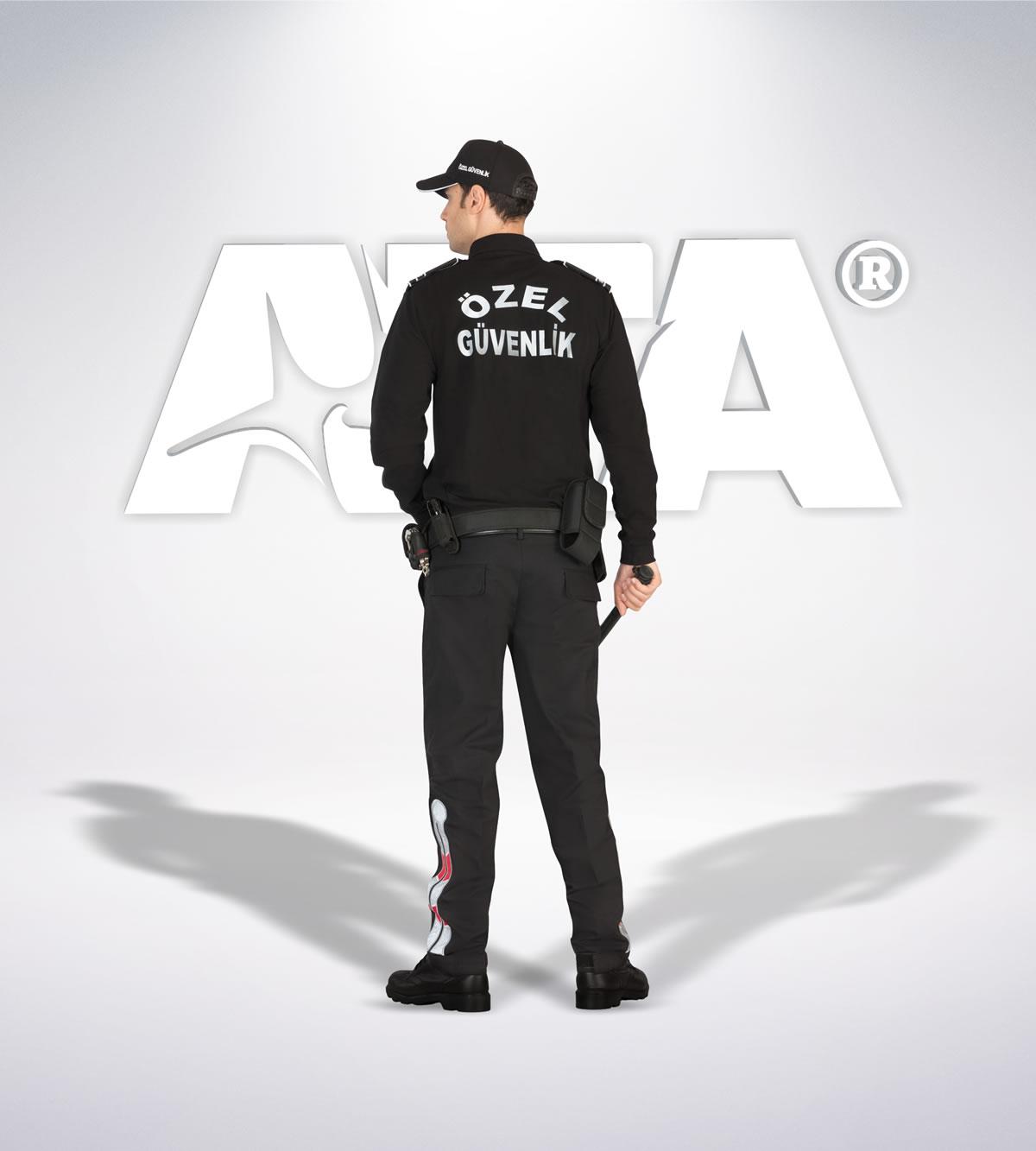 ATA 145 - Ribstop kumaş pantolon - ribstop gömlek - aksesuar -reflektör - güvenlik elbiseleri | güvenlik üniformaları | güvenlik kıyafetleri
