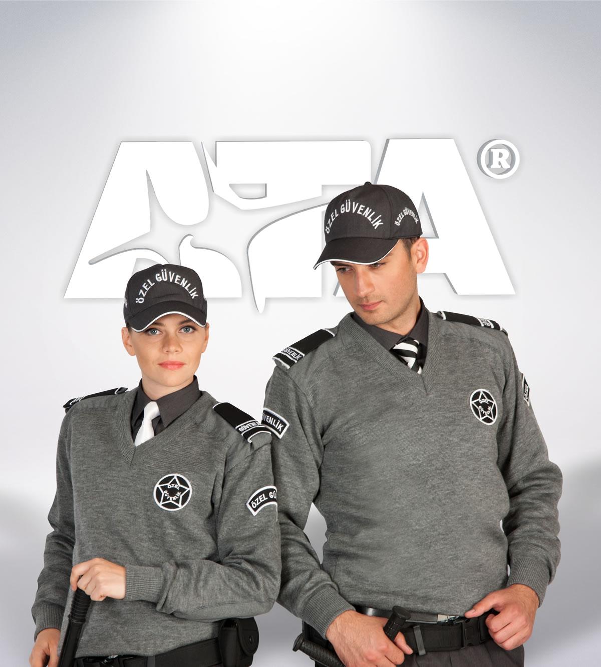 ATA 146 - 147 - v yaka kazak - güvenlik elbiseleri | güvenlik üniformaları | güvenlik kıyafetleri