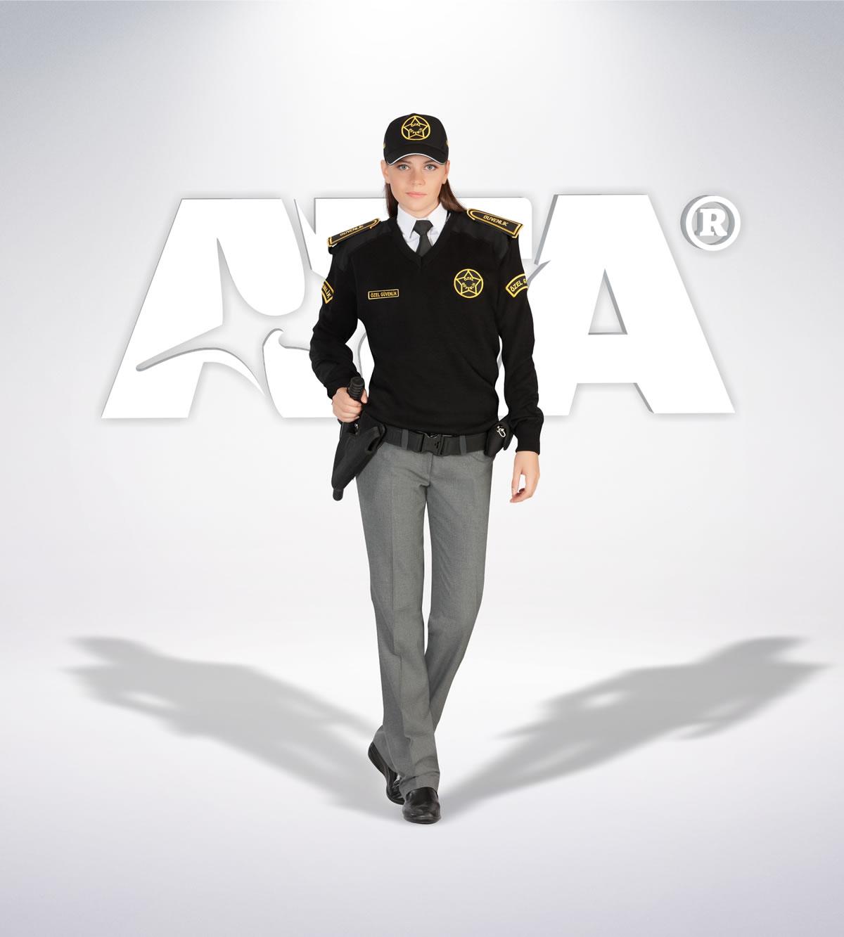 ATA 150 - Pantolon kışlık -  v yaka kazak - aksesuar- güvenlik elbiseleri | güvenlik üniformaları | güvenlik kıyafetleri