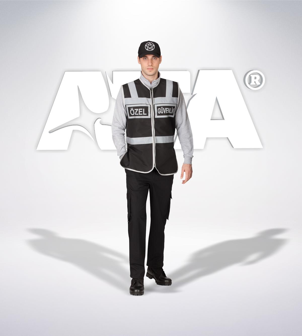 ATA 153 - Ribstop kumaş pantolon - reflektör yelek - aksesuar - güvenlik elbiseleri | güvenlik üniformaları | güvenlik kıyafetleri