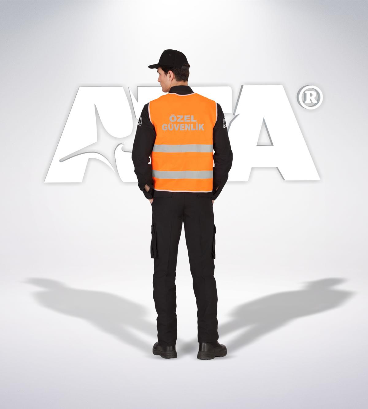 ATA 151 - 5188 özel güvenlik yelek - güvenlik elbiseleri | güvenlik üniformaları | güvenlik kıyafetleri