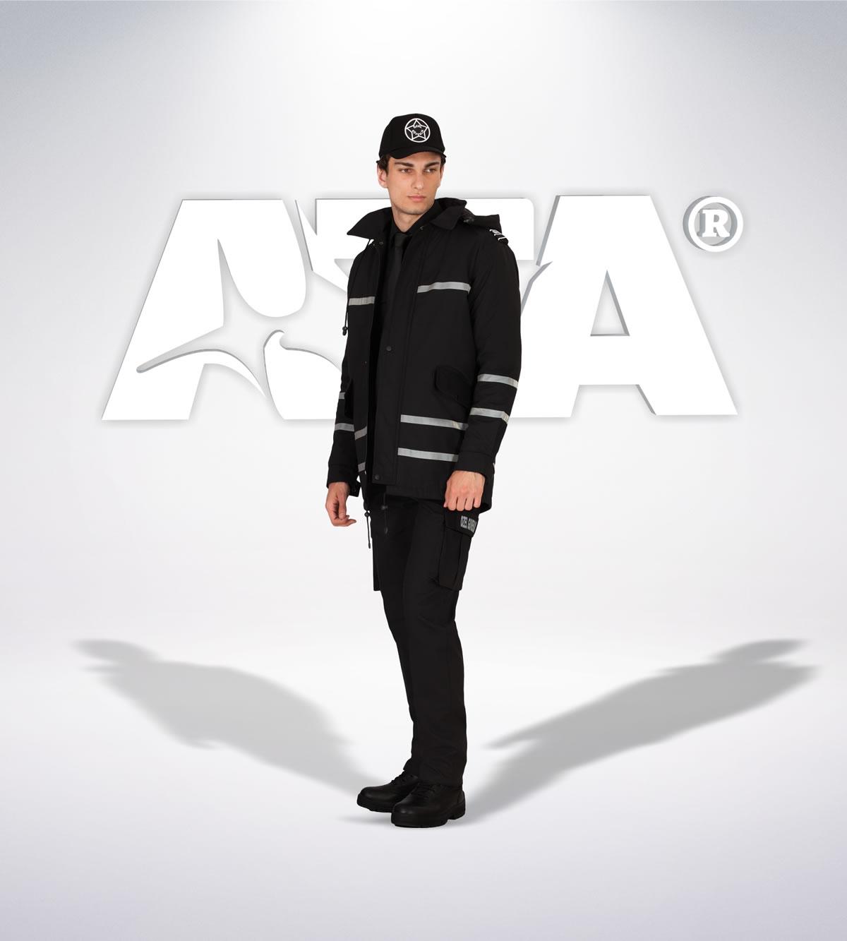 ATA 159 - ön - Pantolon ribstop - mont - aksesuar reflektör - güvenlik elbiseleri | güvenlik üniformaları | güvenlik kıyafetleri