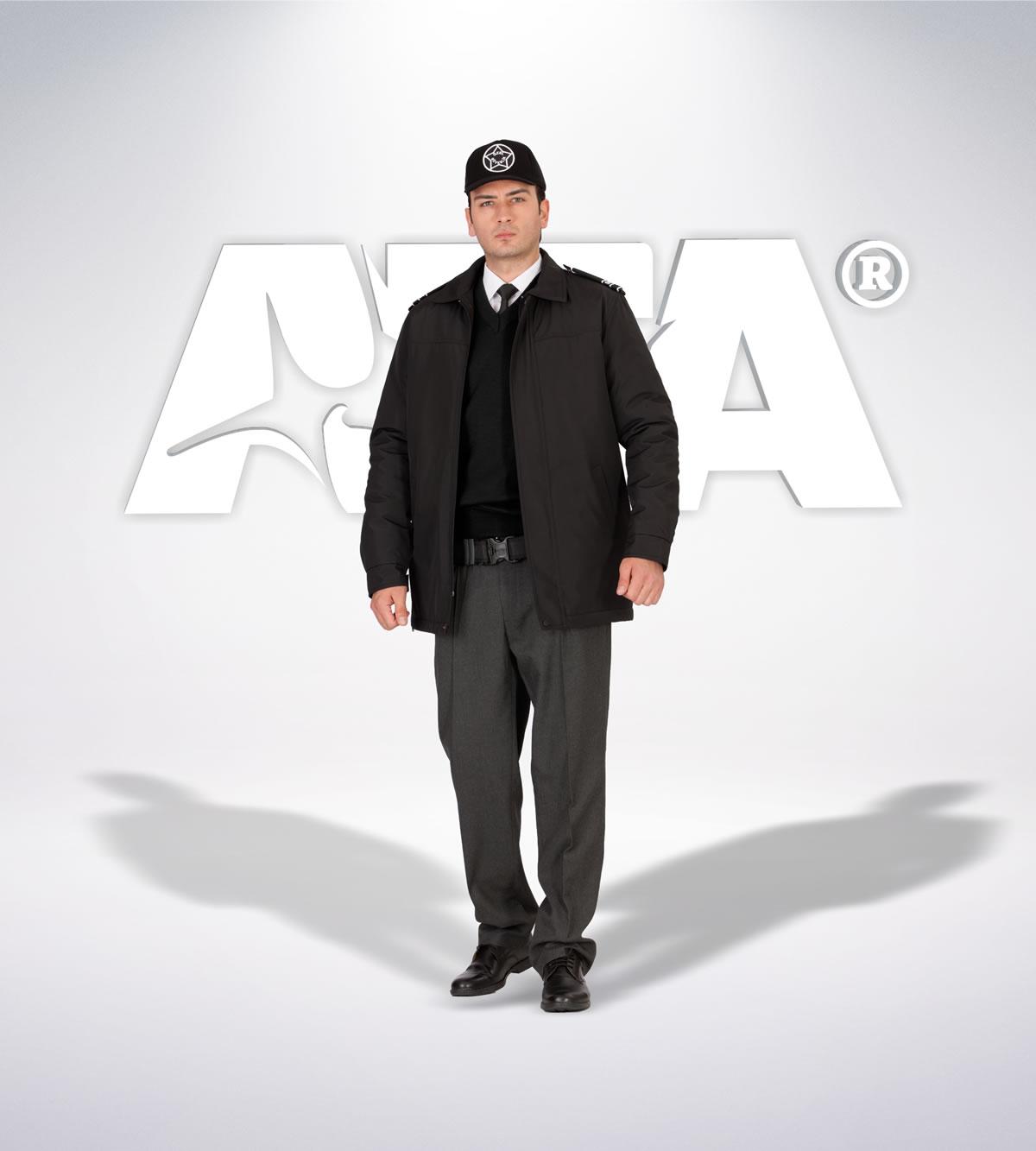ATA 160 - ön - Pantolon kışlık - mont - aksesuar reflektör - güvenlik elbiseleri | güvenlik üniformaları | güvenlik kıyafetleri