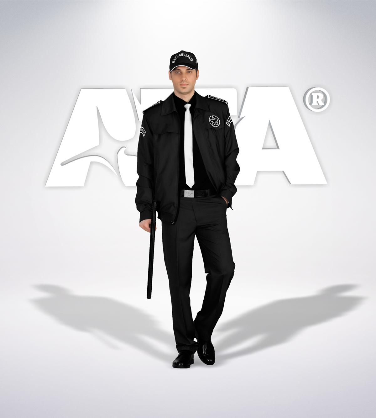 ATA 161 - ön - Pantolon kışlık - mont - aksesuar reflektör - güvenlik elbiseleri | güvenlik üniformaları | güvenlik kıyafetleri