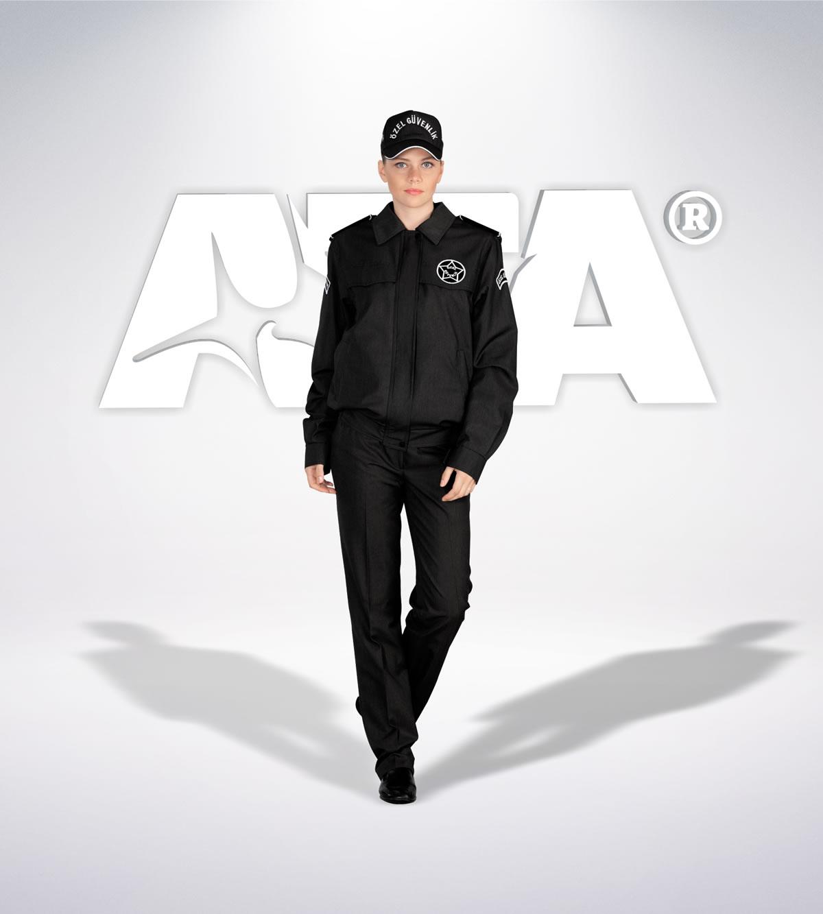 ATA 162 - ön - Pantolon kışlık - mont - aksesuar reflektör - güvenlik elbiseleri | güvenlik üniformaları | güvenlik kıyafetleri