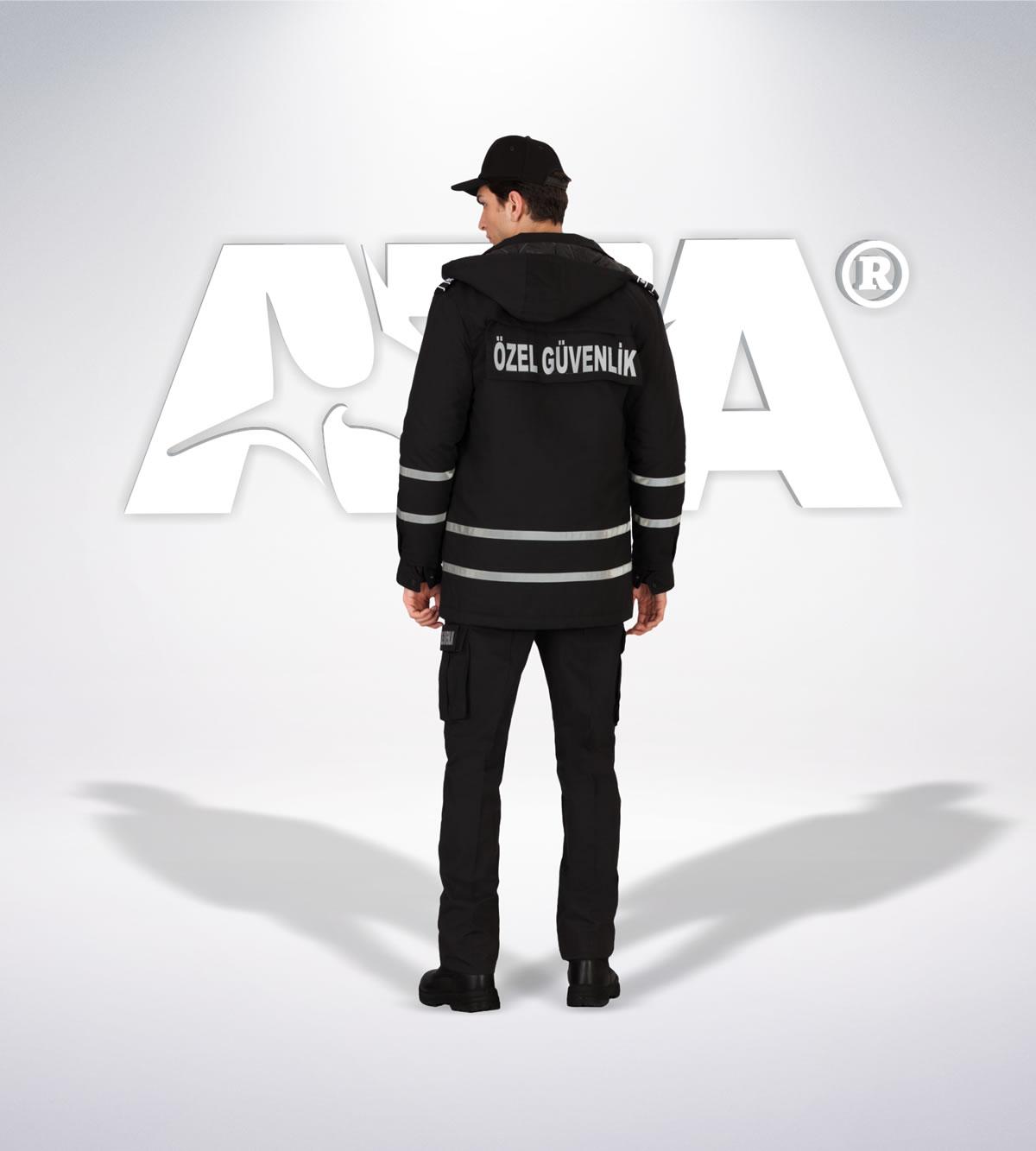 ATA 159 - arka - Pantolon ribstop - mont - aksesuar reflektör - güvenlik elbiseleri | güvenlik üniformaları | güvenlik kıyafetleri