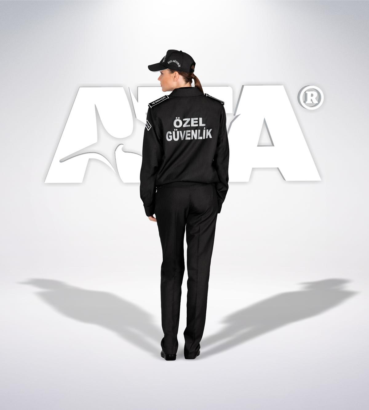 ATA 162 - arka - Pantolon kışlık - mont - aksesuar reflektör - güvenlik elbiseleri | güvenlik üniformaları | güvenlik kıyafetleri