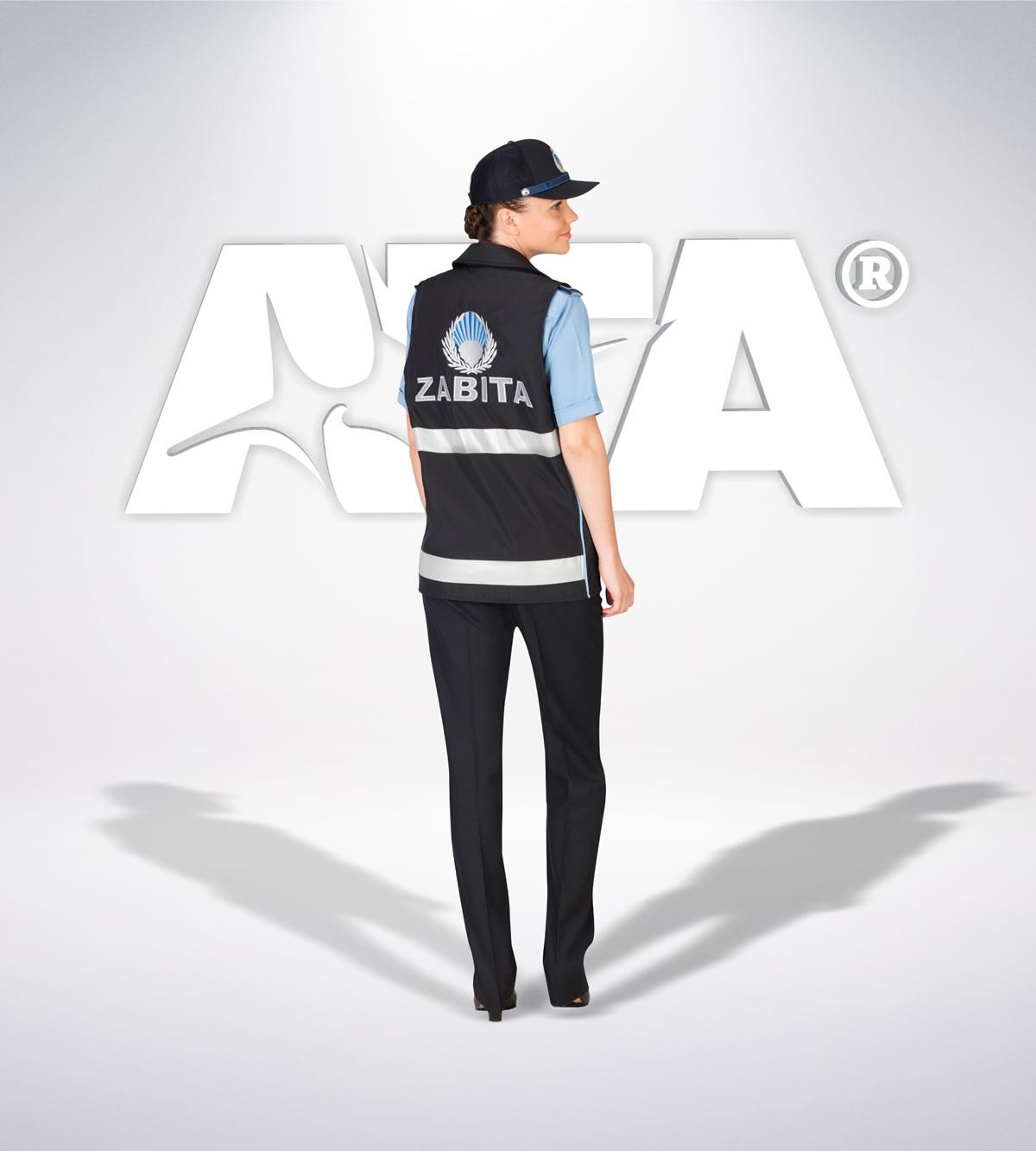 ATA 207 - arka - Pantolon yazlık -reflektör- yelek - aksesuar - zabıta elbiseleri | zabıta üniformaları | zabıta kıyafetleri