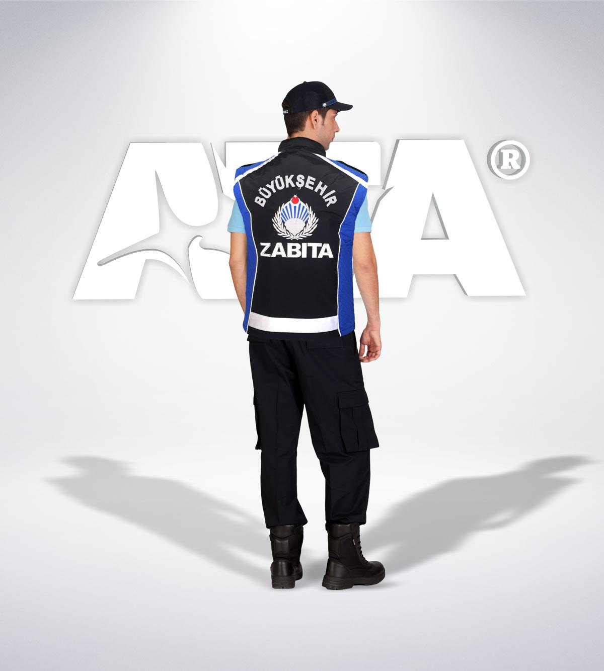 ATA 211 - arka - Ribstop kumaş pantolon - reflektör yelek - t shirt - aksesuar- zabıta elbiseleri | zabıta üniformaları | zabıta kıyafetleri