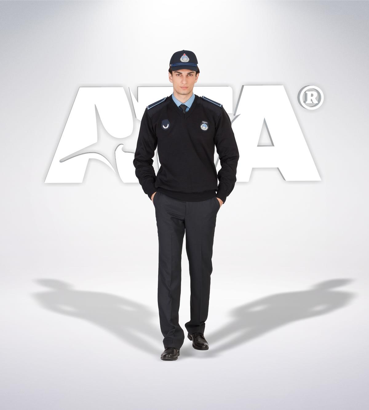 ATA 213 - Pantolon kışlık- v yaka kazak- aksesuar - zabıta elbiseleri | zabıta üniformaları | zabıta kıyafetleri