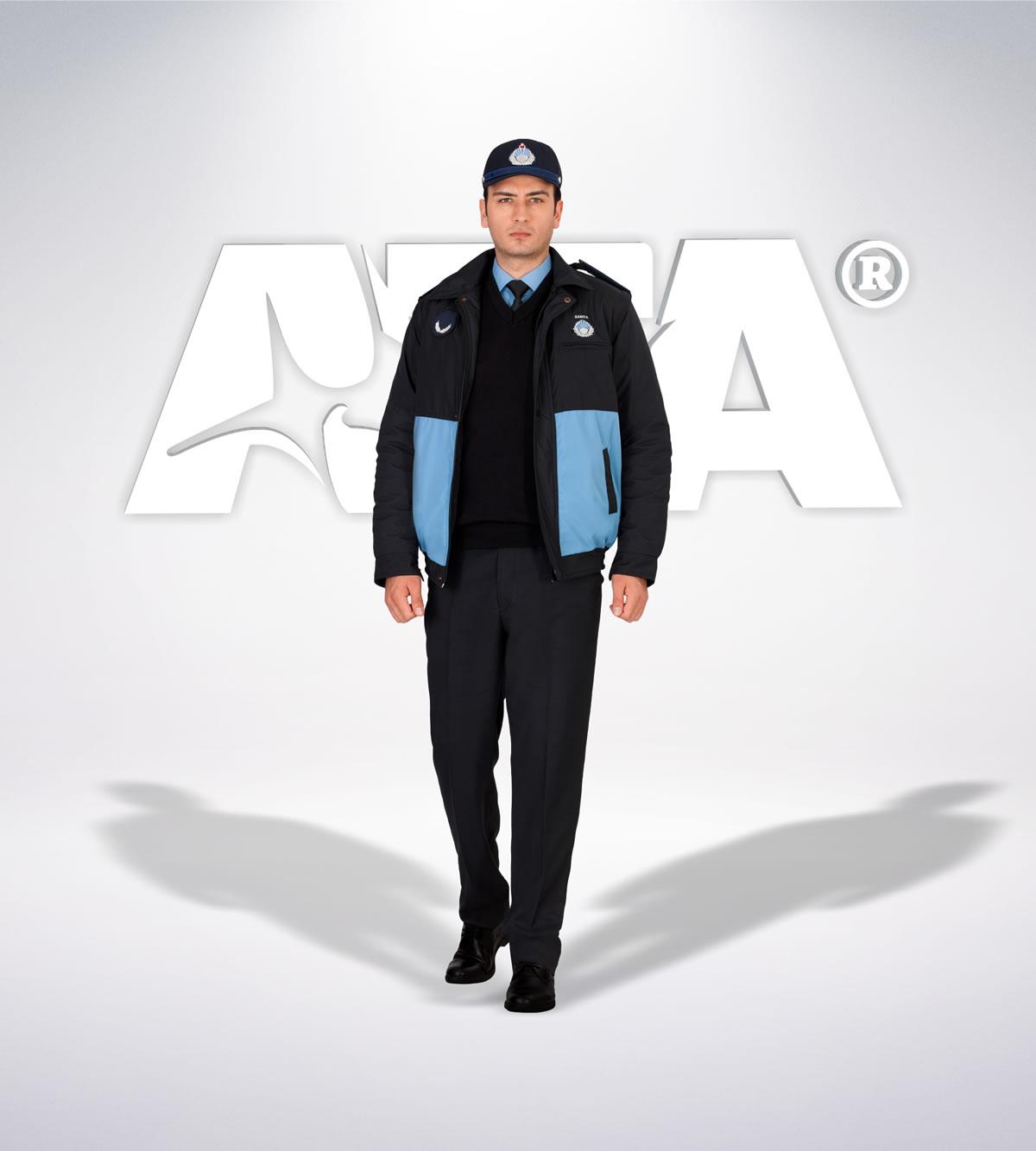 ATA 215 - ön - Pantolon kışlık -mont-reflektör-aksesuar - zabıta elbiseleri | zabıta üniformaları | zabıta kıyafetleri