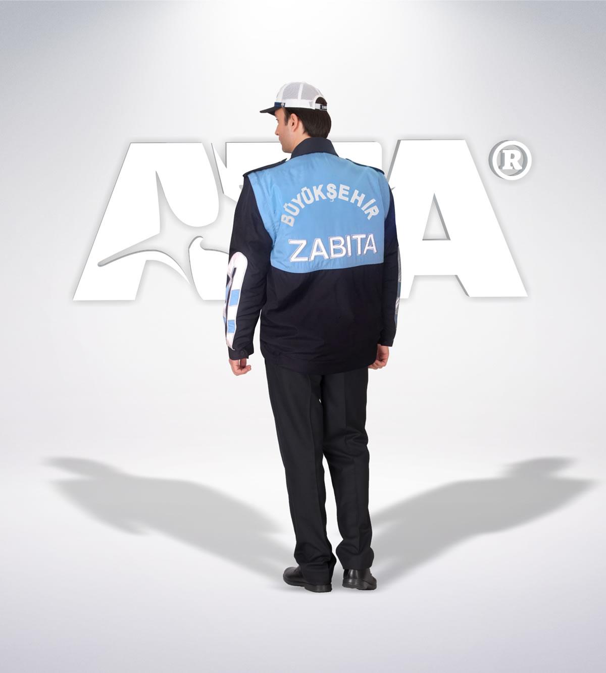 ATA 214 - arka - Pantolon kışlık -mont-reflektör-aksesuar - zabıta elbiseleri | zabıta üniformaları | zabıta kıyafetleri