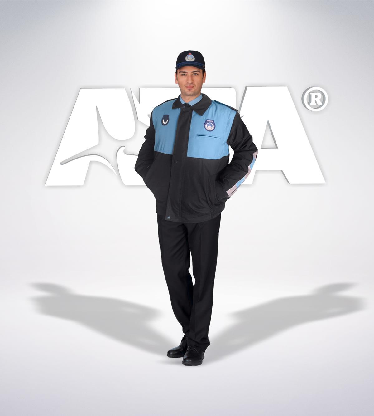 ATA 214 - ön - Pantolon kışlık -mont-reflektör-aksesuar - zabıta elbiseleri | zabıta üniformaları | zabıta kıyafetleri