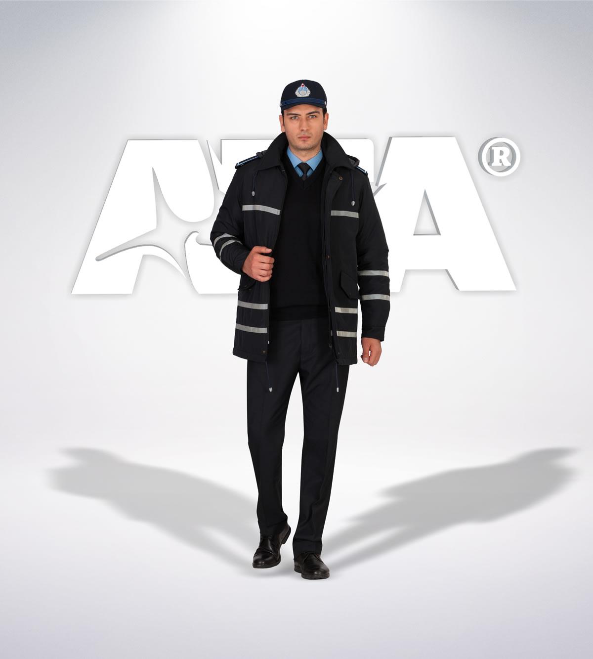 ATA 216 - ön - Pantolon kışlık -mont-reflektör-aksesuar - zabıta elbiseleri | zabıta üniformaları | zabıta kıyafetleri
