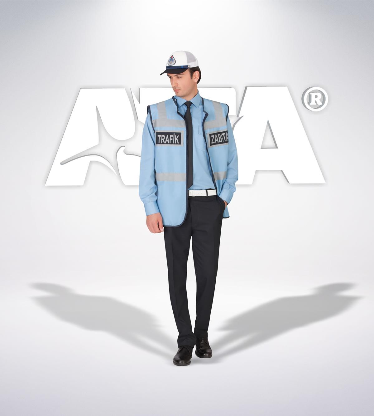 ATA 217 - ön - Pantolon kışlık -reflektör- yelek - aksesuar - zabıta elbiseleri | zabıta üniformaları | zabıta kıyafetleri