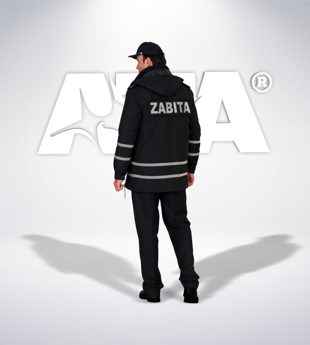 ATA 216 - arka - Pantolon kışlık -mont-reflektör-aksesuar - zabıta elbiseleri | zabıta üniformaları | zabıta kıyafetleri