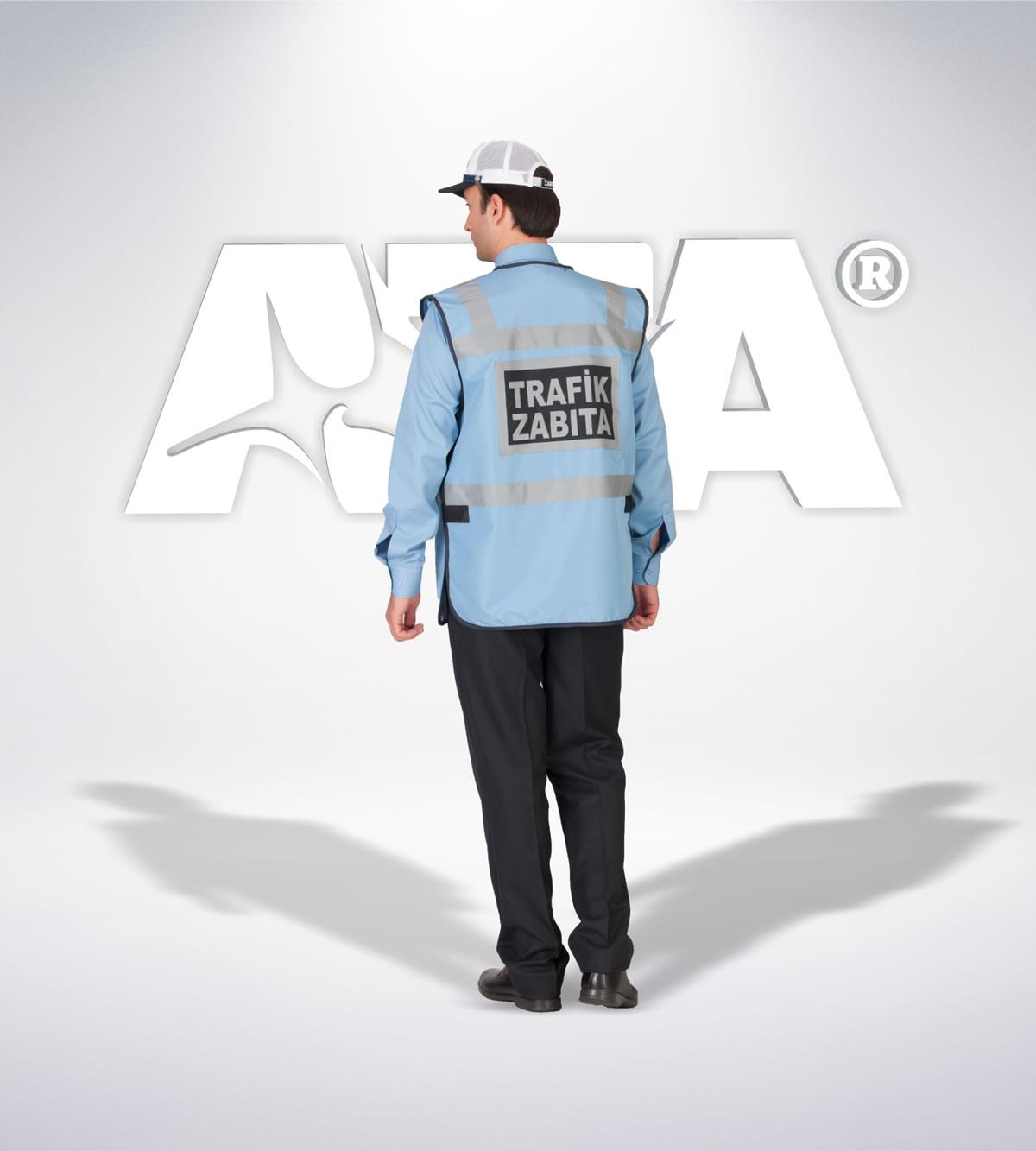 ATA 217 - arka - Pantolon kışlık -reflektör- yelek - aksesuar - zabıta elbiseleri | zabıta üniformaları | zabıta kıyafetleri