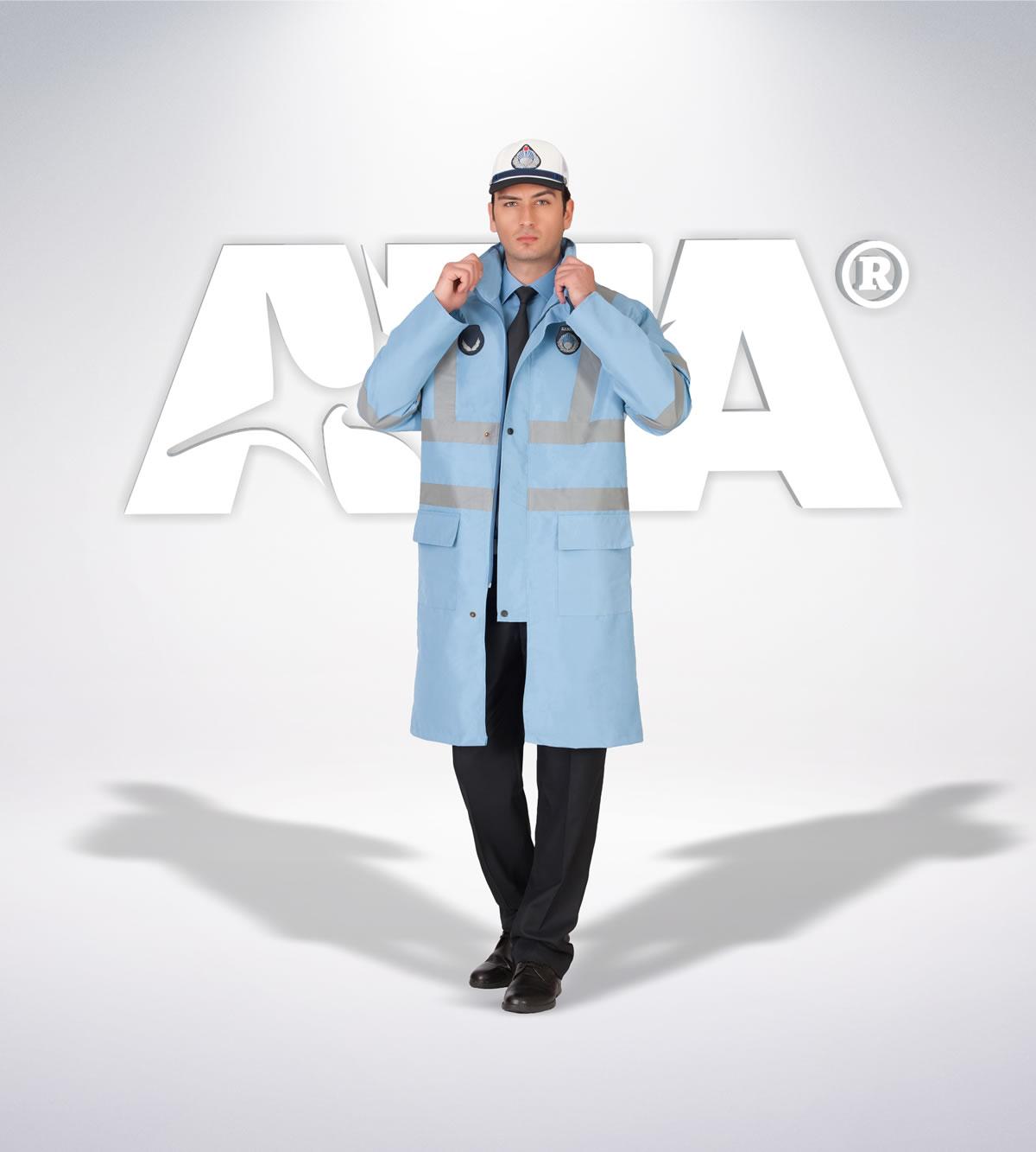 ATA 219 - yagmurluk - aksesuar - zabıta elbiseleri | zabıta üniformaları | zabıta kıyafetleri