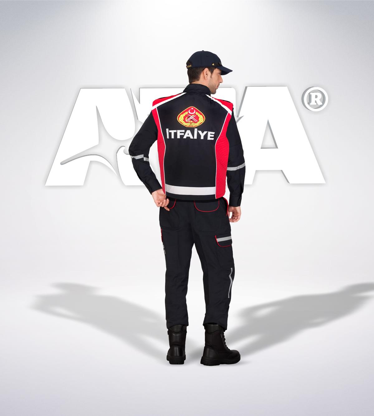 ATA 302 - Pantolon ribstop -reflektör- yelek - aksesuar - itfaiye elbiseleri | itfaiye üniformaları | itfaiye kıyafetleri
