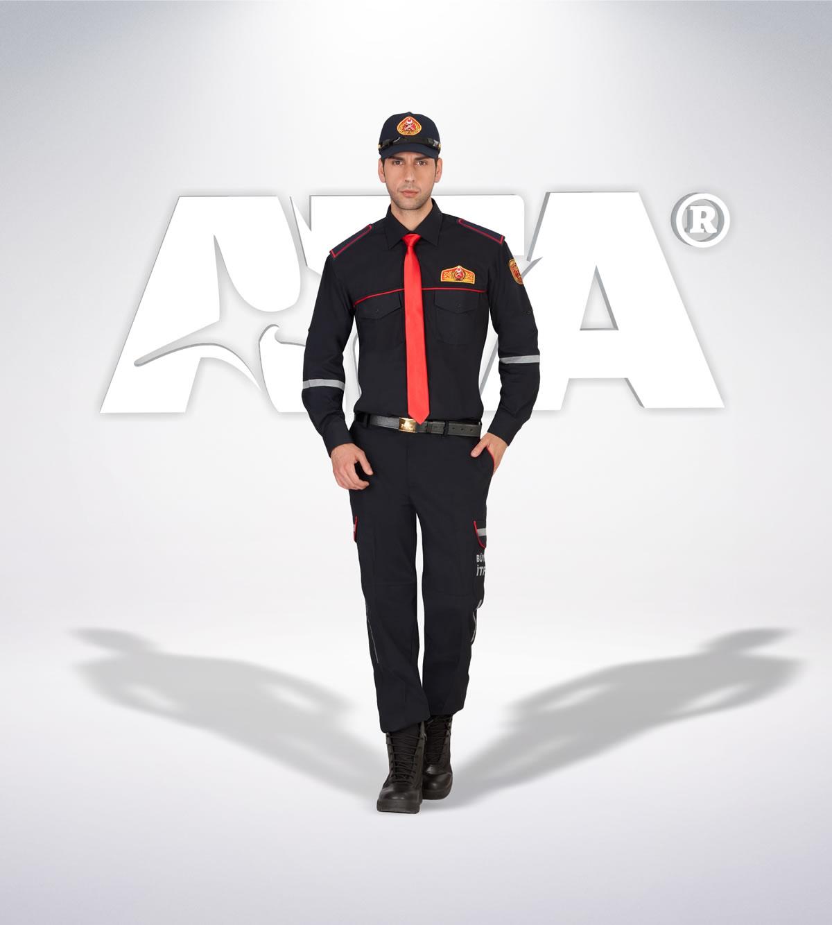 ATA 307 - Ribstop kumaş pantolon - ribstop gömlek - aksesuar -reflektör - itfaiye elbiseleri | itfaiye üniformaları | itfaiye kıyafetleri