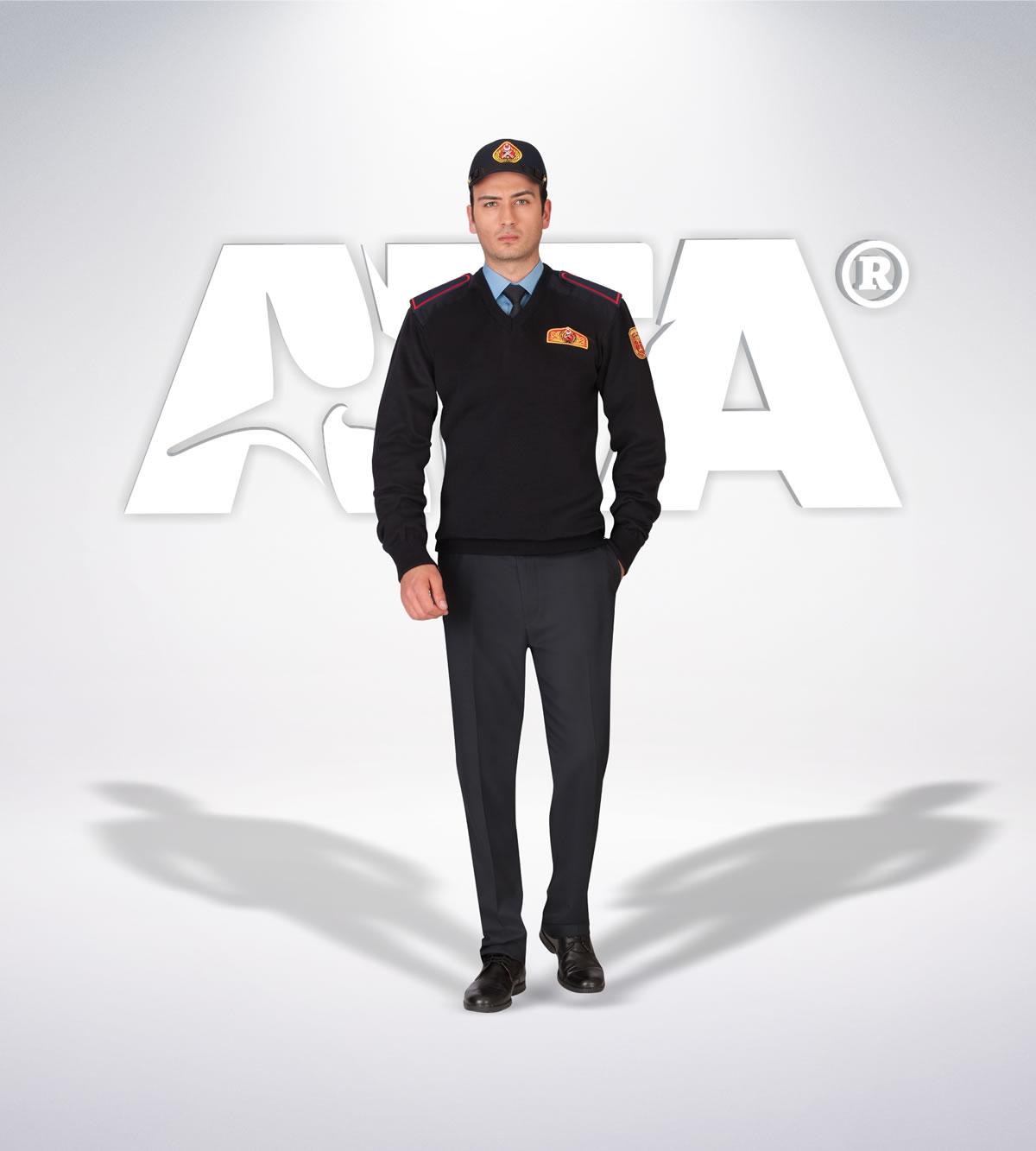ATA 308 - Pantolon kışlık- v yaka kazak- aksesuar - itfaiye elbiseleri | itfaiye üniformaları | itfaiye kıyafetleri