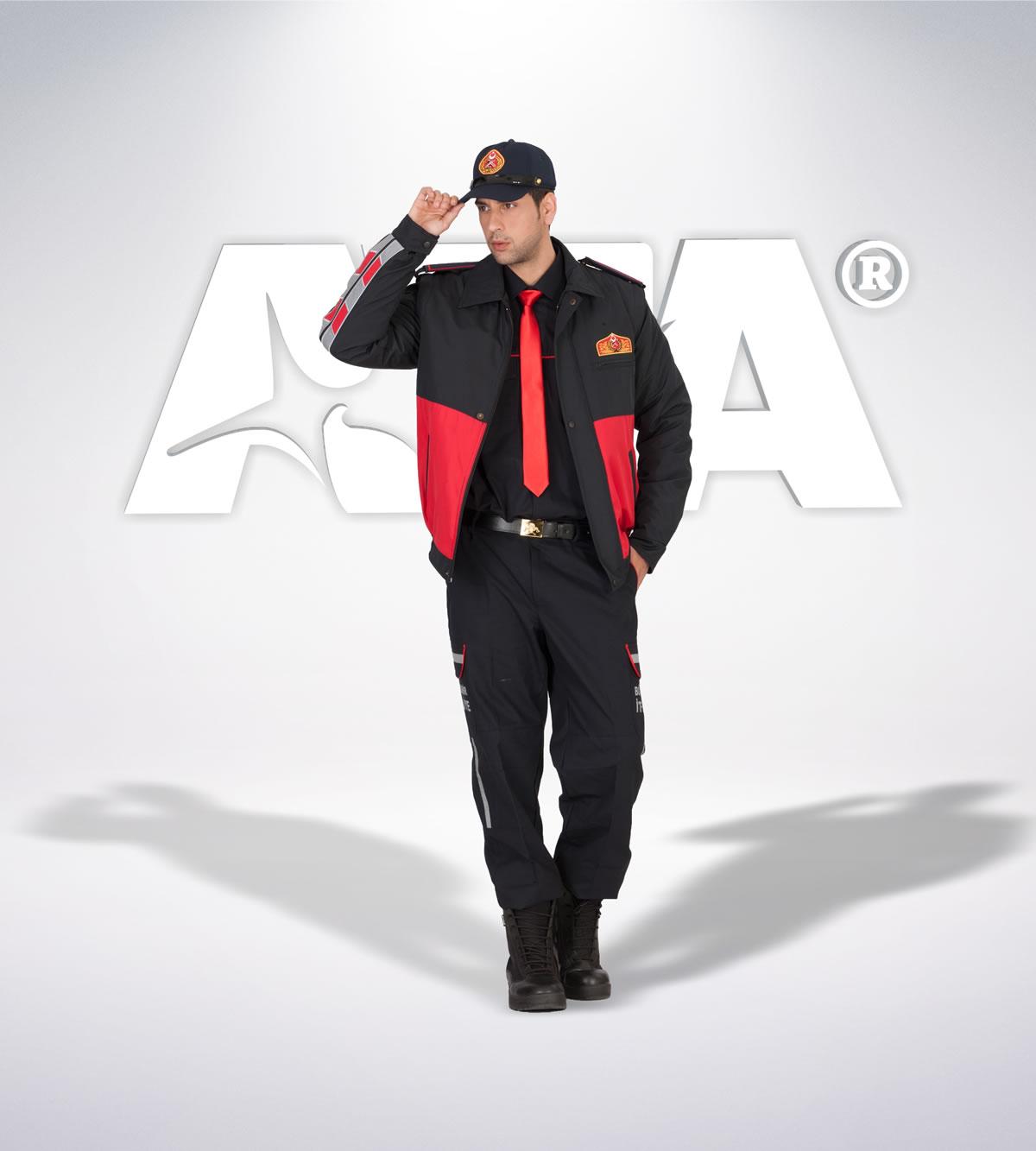 ATA 309 - ön - Pantolon ribstop - mont - aksesuar reflektör - itfaiye elbiseleri | itfaiye üniformaları | itfaiye kıyafetleri