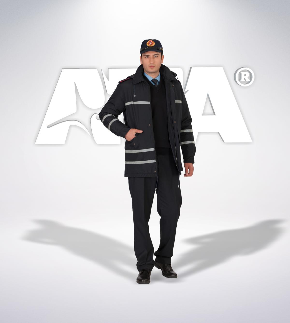 ATA 310 - ön - Pantolon kışlık -mont-reflektör-aksesuar - itfaiye elbiseleri | itfaiye üniformaları | itfaiye kıyafetleri