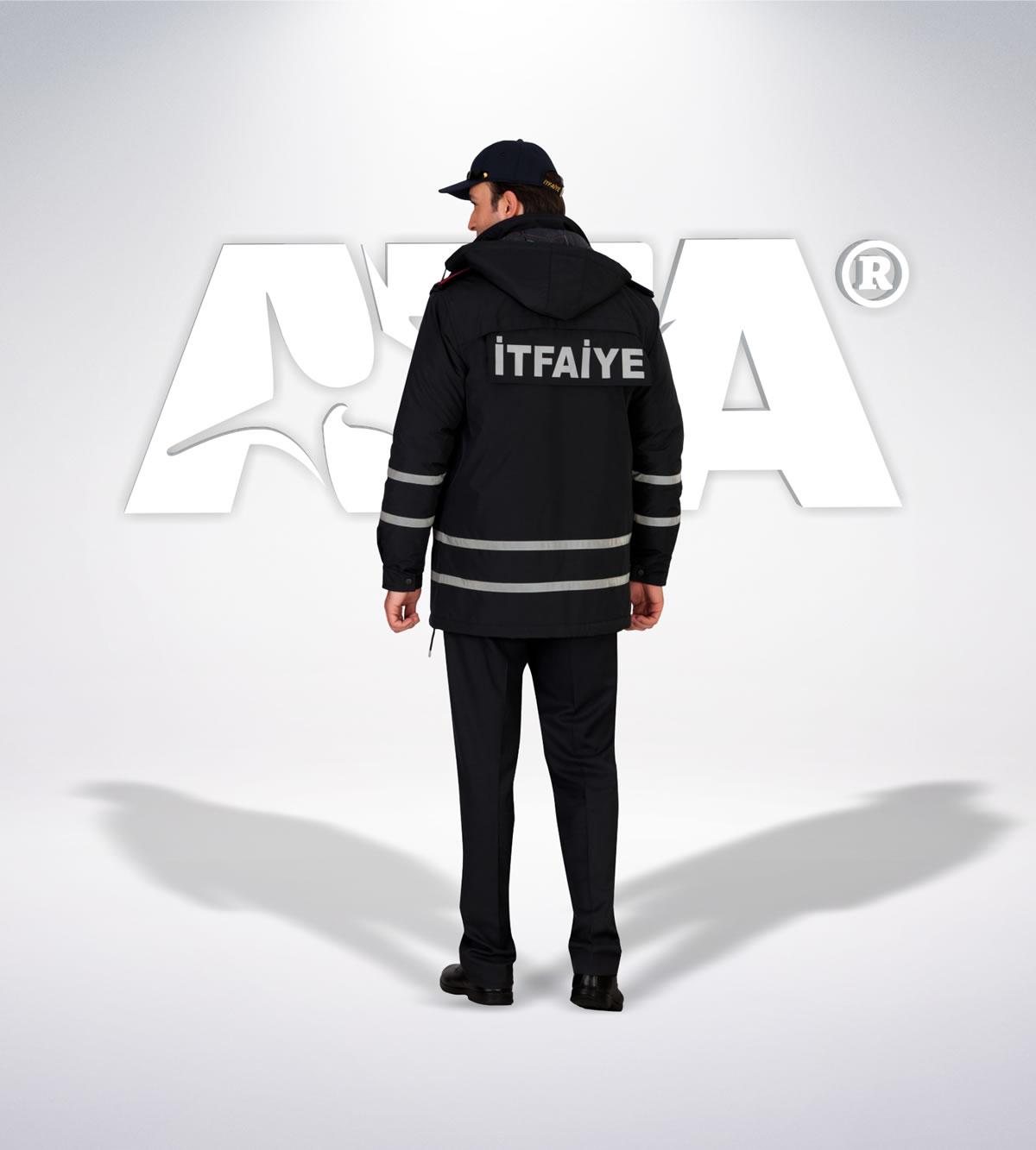 ATA 310 - arka - Pantolon kışlık -mont-reflektör-aksesuar - itfaiye elbiseleri | itfaiye üniformaları | itfaiye kıyafetleri