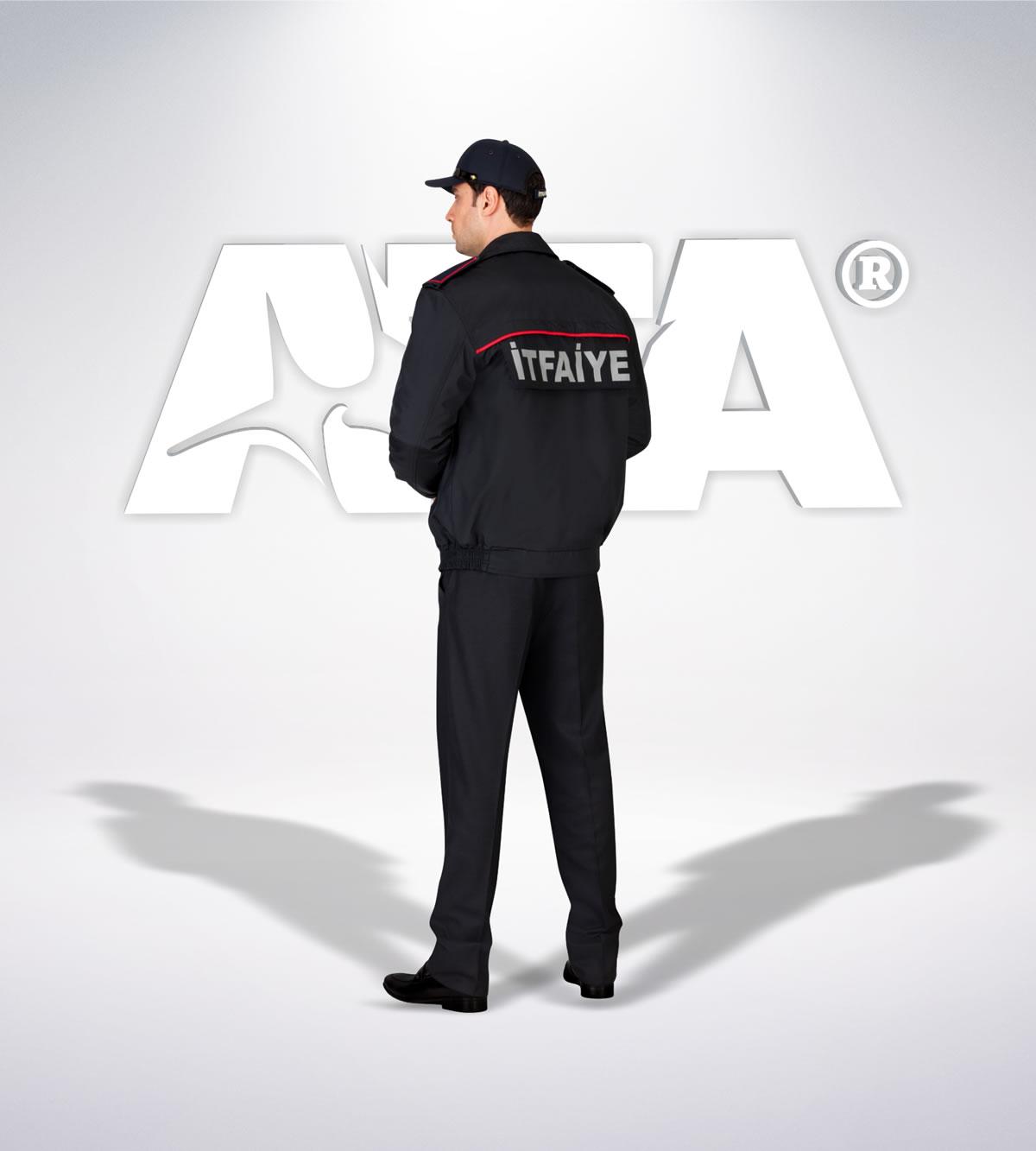 ATA 311 - arka - Pantolon kışlık -mont-reflektör-aksesuar - itfaiye elbiseleri | itfaiye üniformaları | itfaiye kıyafetleri