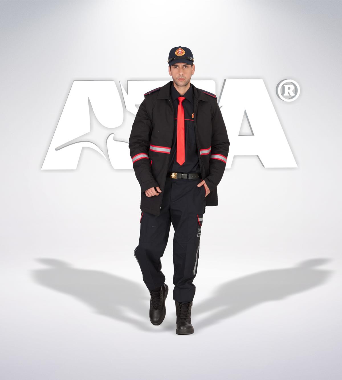 ATA 312 - Ribstop kumaş pantolon - mont  - aksesuar -reflektör - itfaiye elbiseleri | itfaiye üniformaları | itfaiye kıyafetleri