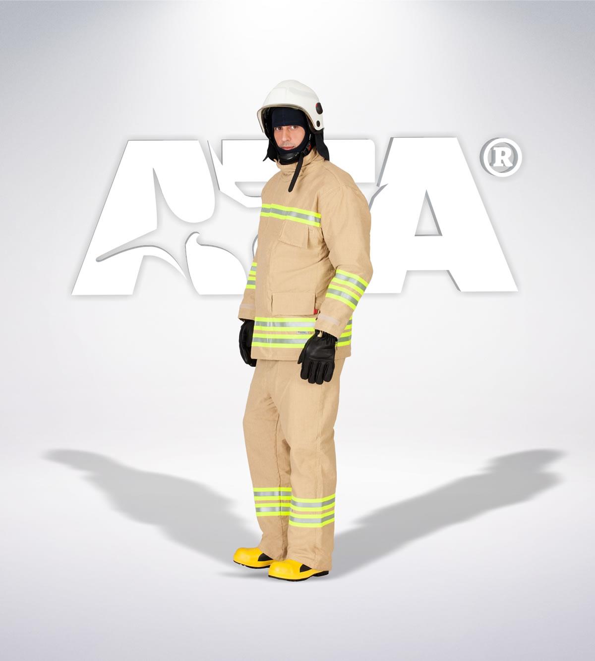 ATA 313 - Yangın söndürme takımı (uygulama kıyafeti yanmaz kıyafet) - itfaiye elbiseleri | itfaiye üniformaları | itfaiye kıyafetleri