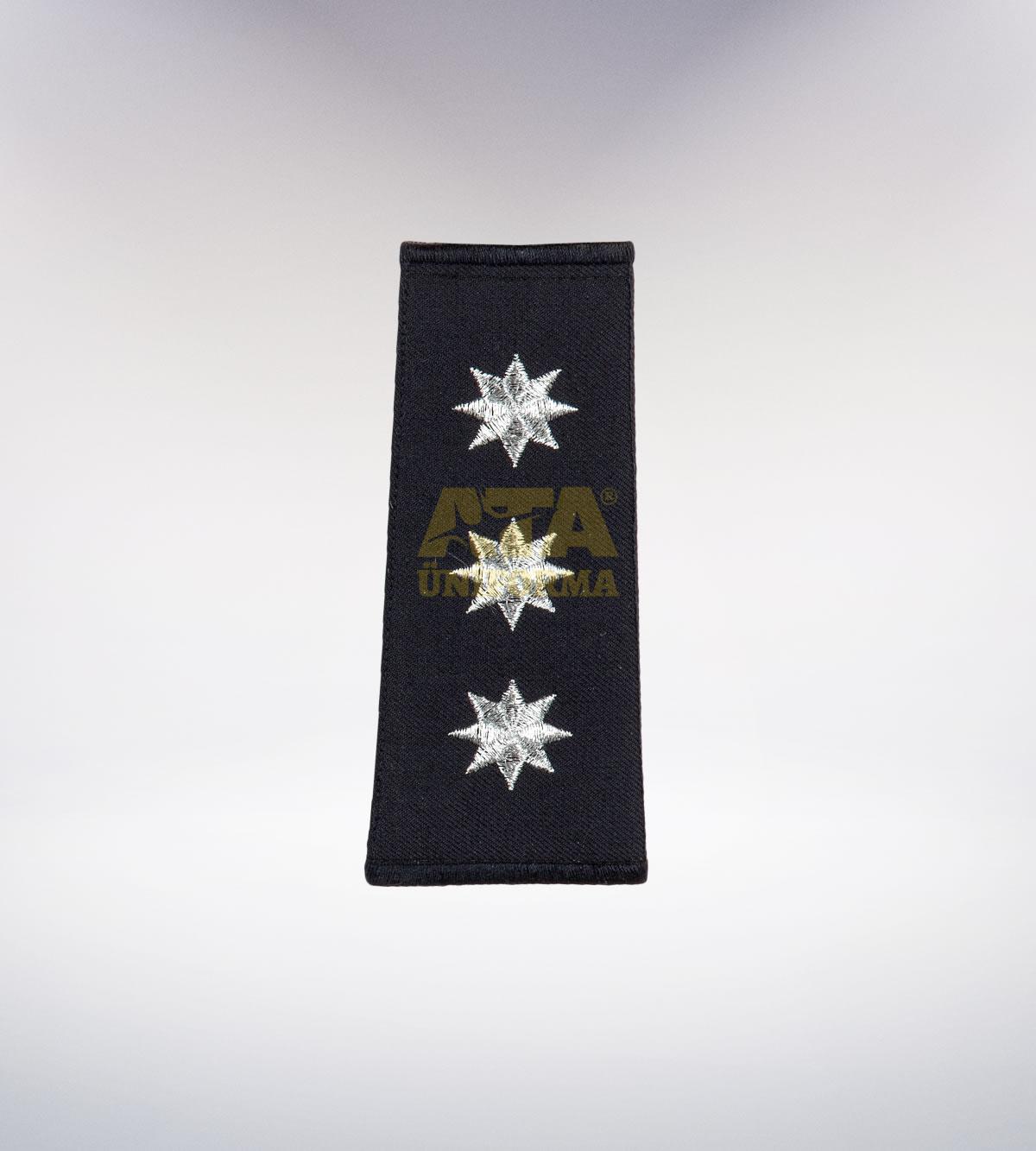 ATA-1001 Polis nakışlı apolet - polis elbiseleri | polis üniformaları | polis kıyafetleri
