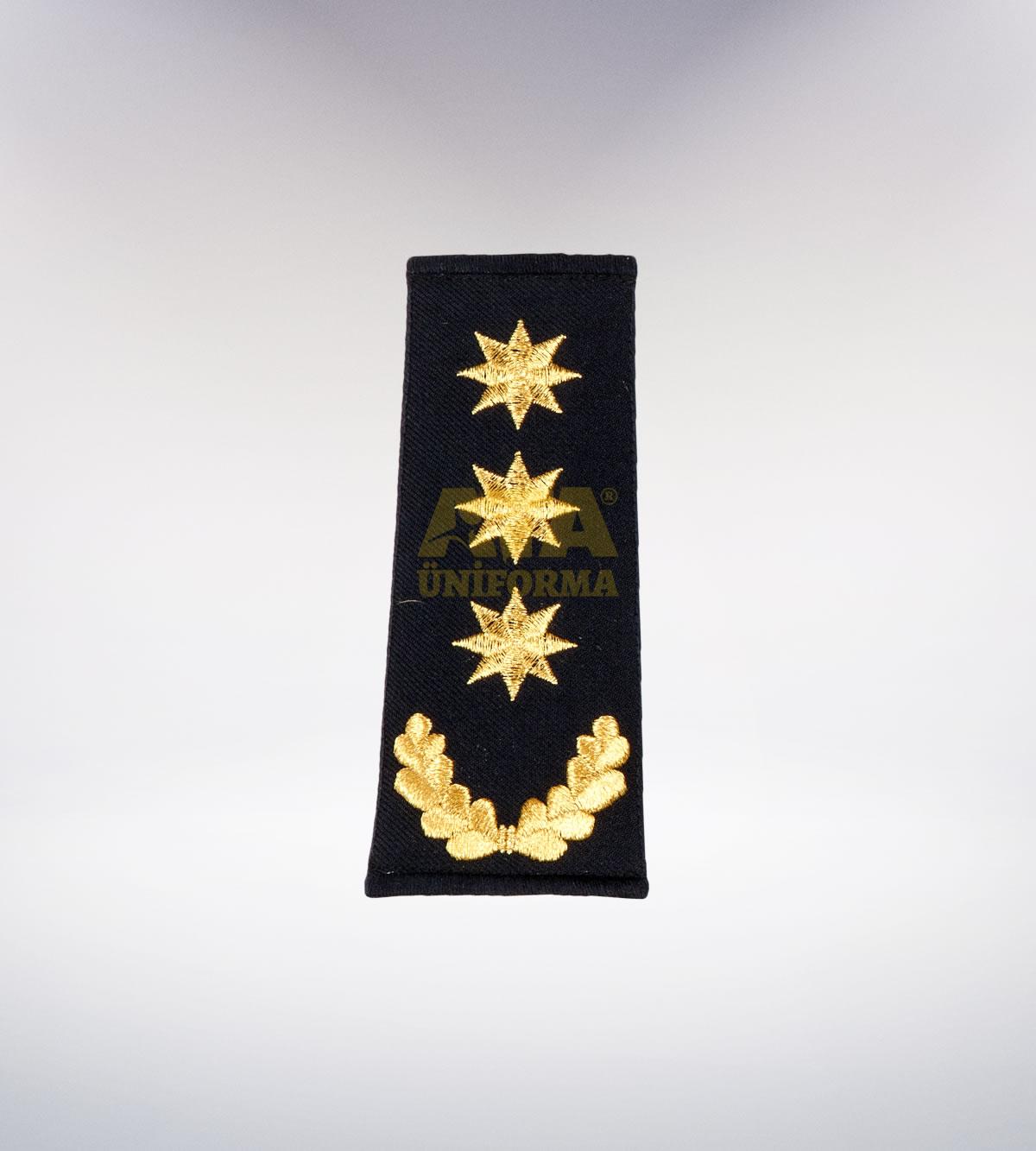 ATA-1002 Polis nakışlı apolet - polis elbiseleri | polis üniformaları | polis kıyafetleri