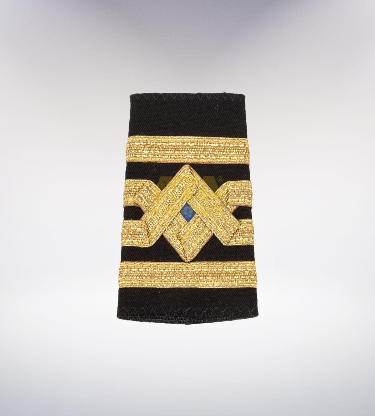 ATA-1017 Denizci nakışlı apolet - denizci elbiseleri | denizci üniformaları | denizci kıyafetleri