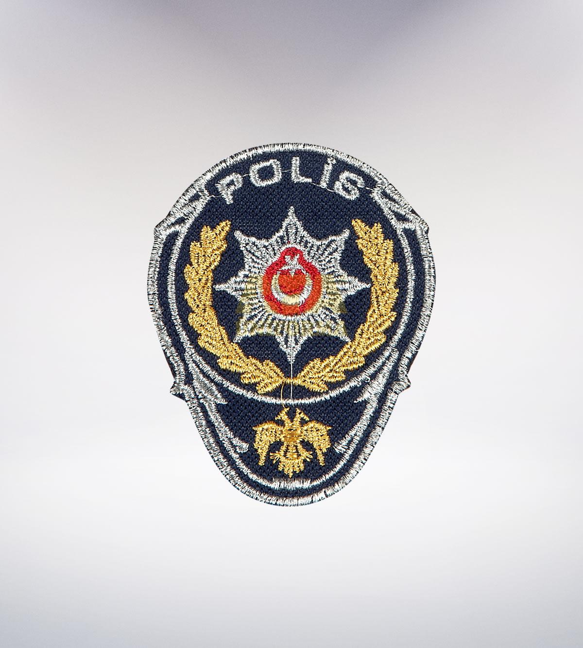 ATA-1037 Polis nakışlı arma - polis elbiseleri | polis üniformaları | polis kıyafetleri