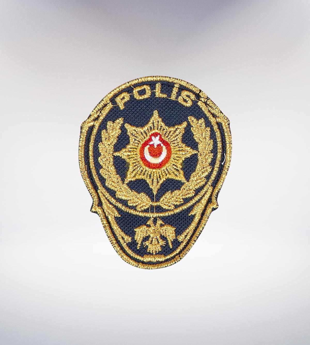 ATA-1038 Polis nakışlı arma - polis elbiseleri | polis üniformaları | polis kıyafetleri