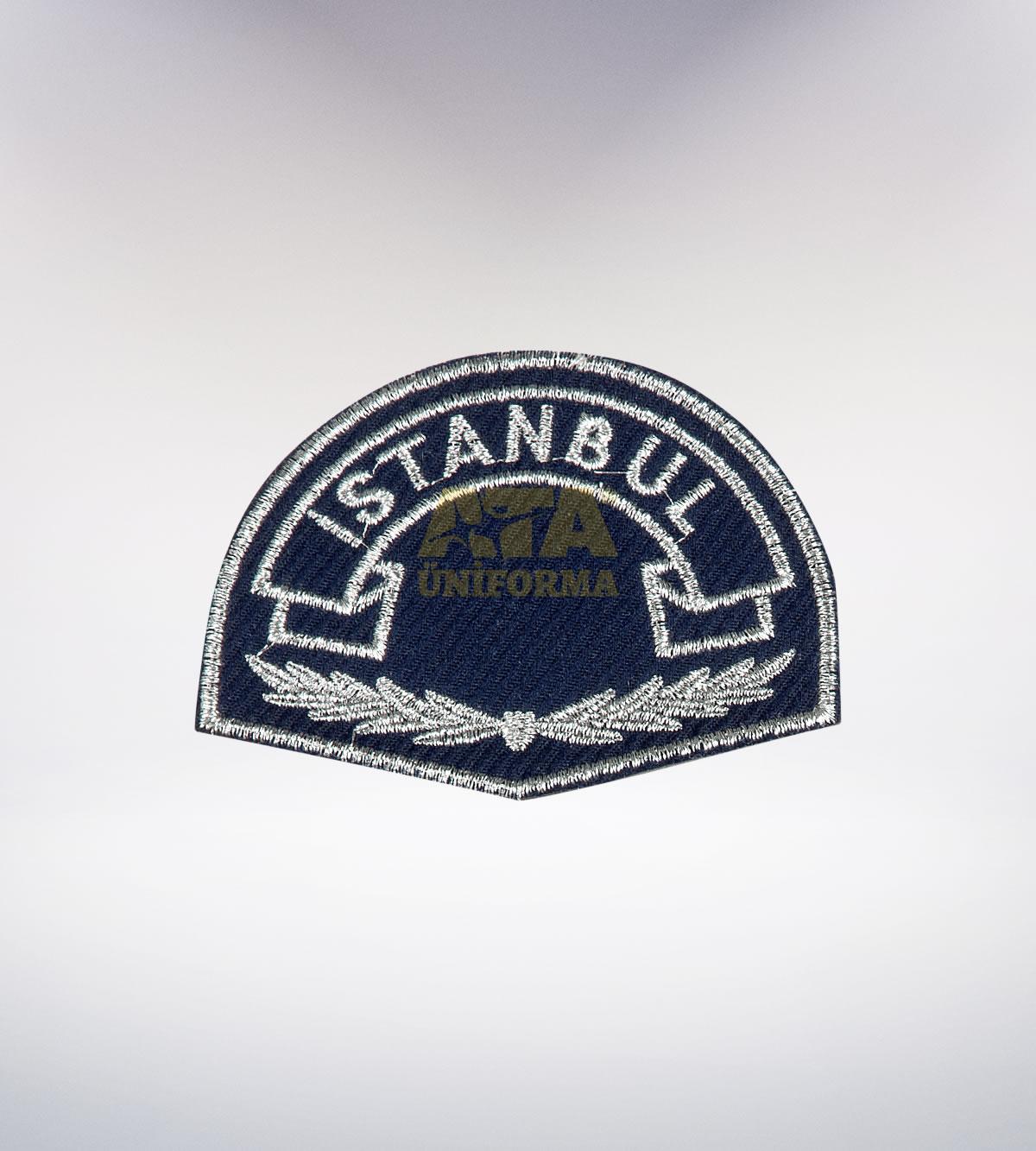 ATA-1041 Polis nakışlı arma - polis elbiseleri | polis üniformaları | polis kıyafetleri
