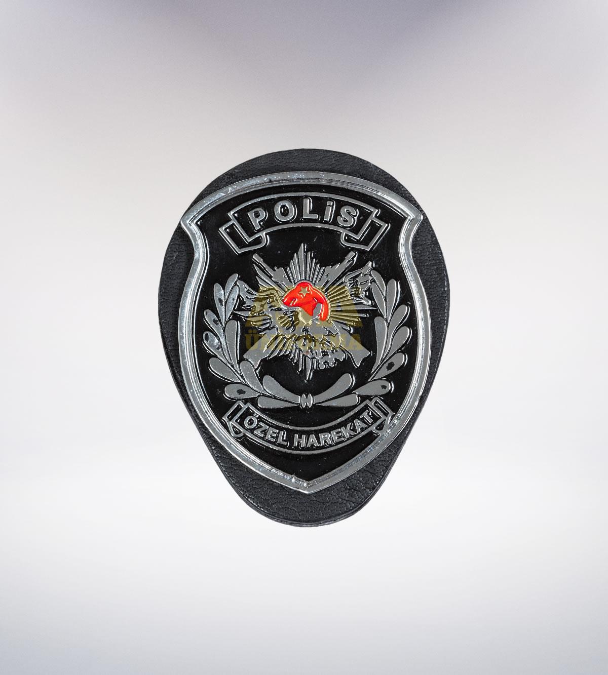 ATA-1085 Polis metal rozet - polis elbiseleri | polis  üniformaları | polis kıyafetleri