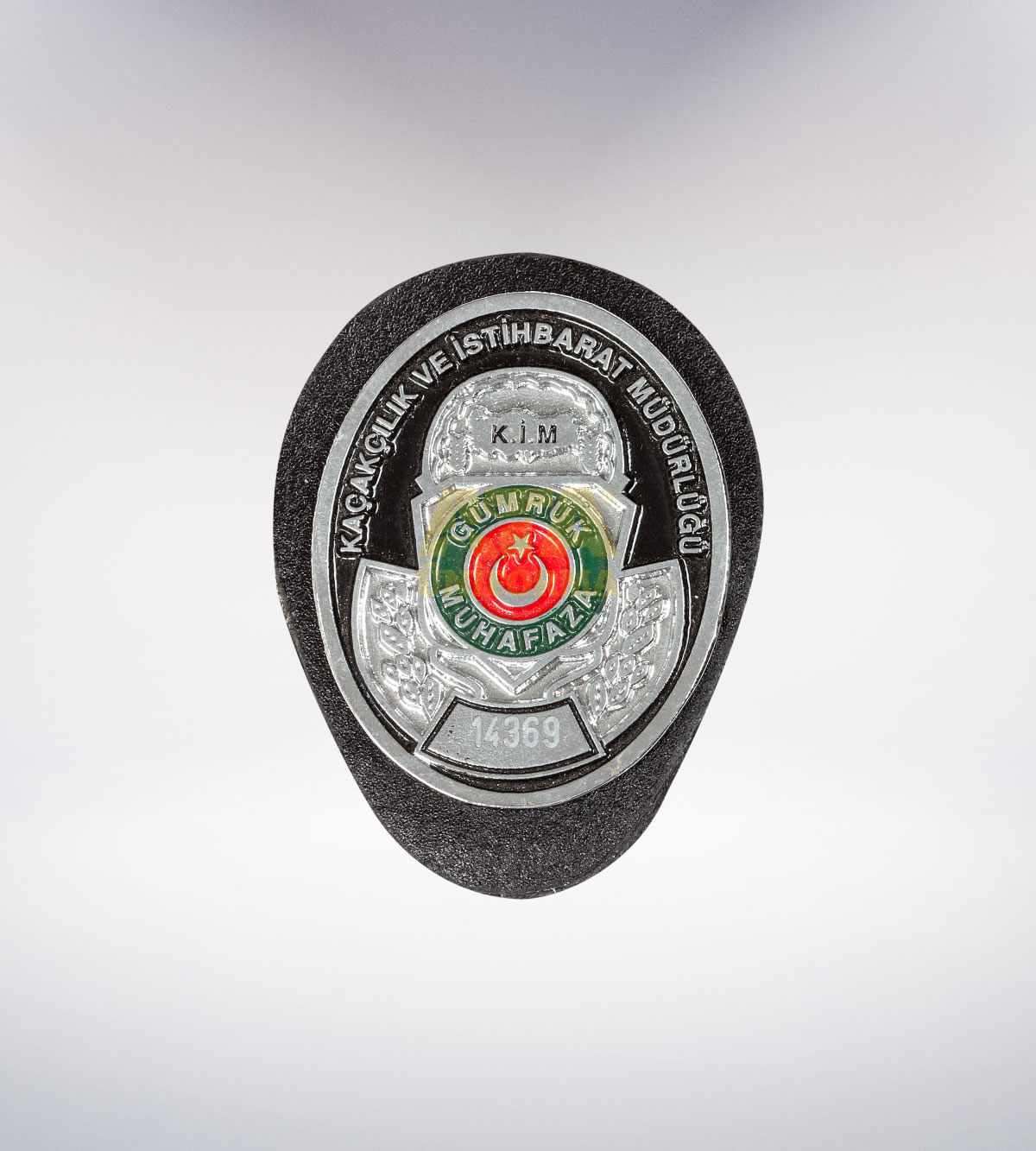 ATA-1086 Gümrük metal rozet - asker elbiseleri | asker  üniformaları | polis kıyafetleri