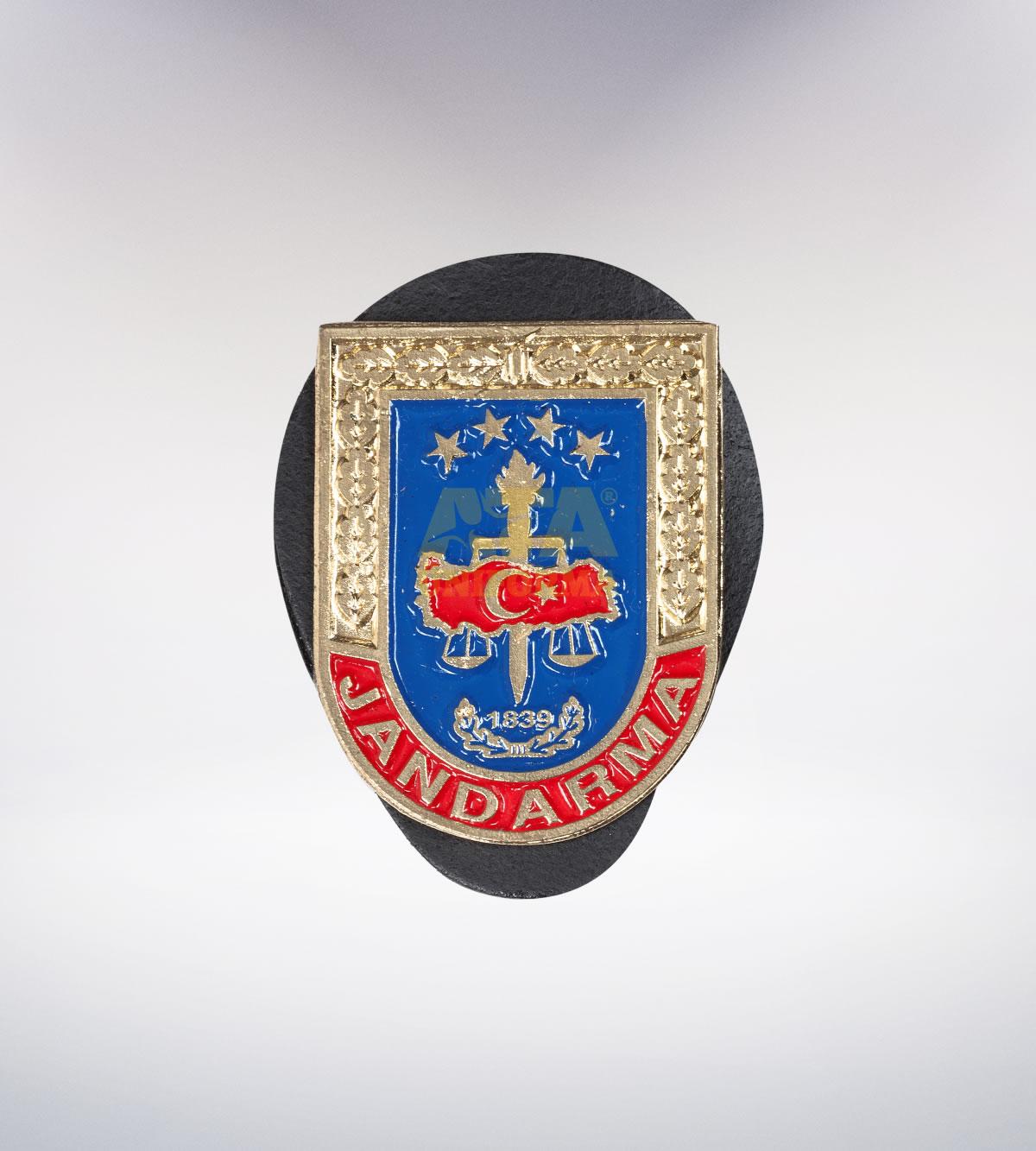 ATA-1089 Jandarma metal rozet - asker elbiseleri | asker  üniformaları | polis kıyafetleri