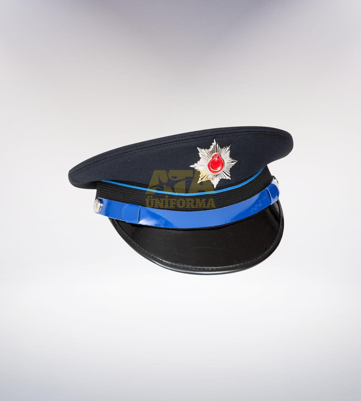 ATA-1093 Polis tören şapkası genel hizmet memur - polis elbiseleri | polis  üniformaları | polis kıyafetleri
