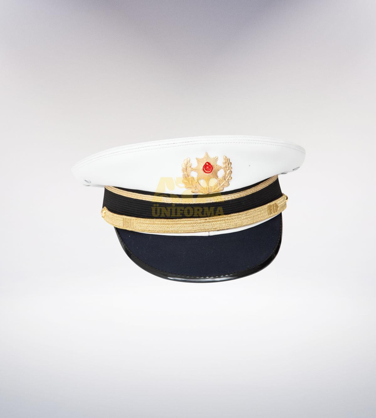 ATA-1094 Trafik polis müdür tören şapka - polis elbiseleri | polis  üniformaları | polis kıyafetleri