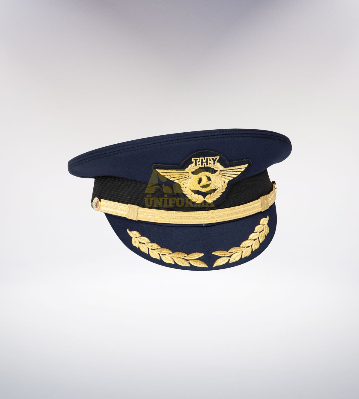 ATA-1095 Pilot tören şapka - pilot elbiseleri | pilot  üniformaları | pilot kıyafetleri