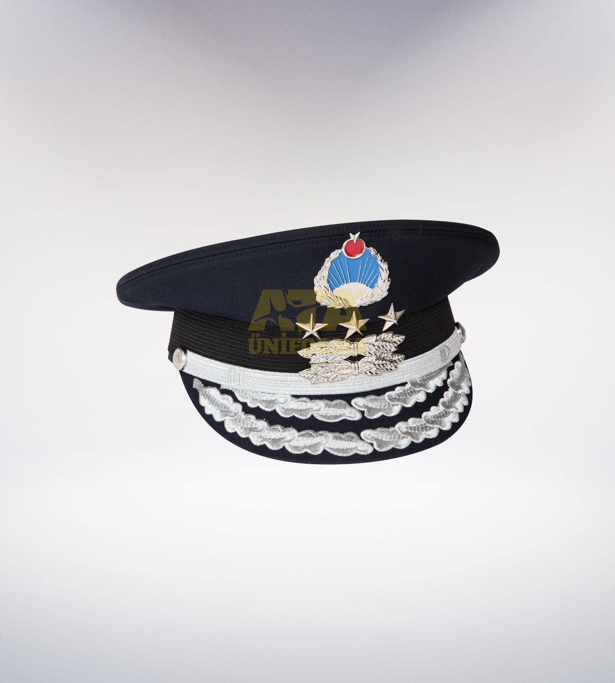 ATA-1096 Zabıta memur tören şapka - zabıta elbiseleri | zabıta  üniformaları | zabıta kıyafetleri