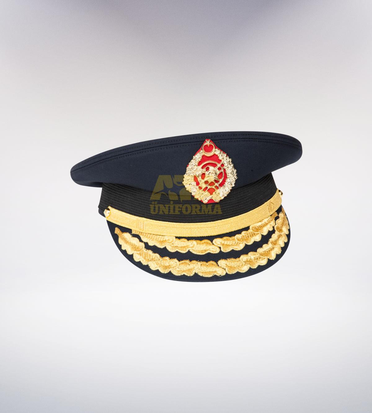 ATA-1098 İtfaiye tören şapka - itfaiye elbiseleri | itfaiye  üniformaları | itfaiye kıyafetleri